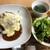 リトルカフェ セン - チーズハンバーグカレー