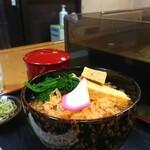 そば処 緑寿庵 - 料理写真:冷だましそば(¥700)
