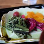 やまびこ茶屋 - 山菜