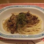第1ベイサイドカフェ - 和風きのこスパゲッティ