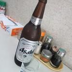 万よし食堂 - 大瓶¥500