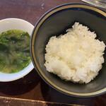 140370006 - ご飯 スープ