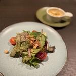 レストラン&バー タイドテーブル シオミ - 料理写真:潮見サラダ