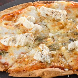 湯葉がピザの食材に⁉和から洋へアレンジしたオリジナル創作料理