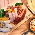 ウッドデザインパーク - 料理写真:当店のBBQはこだわりの味付けオリジナルBBQ
