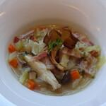 トゥ・ザ・ハーブズ - 4種のきのこと野菜のミネストローネ