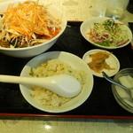 14038886 - ランチの坦々麺セット