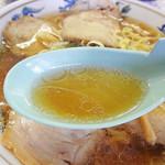 たるまい軒 - 正油スープ アップ