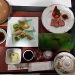 御宿 東鳳 - 夕食の膳❗️
