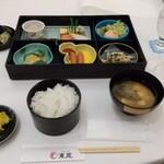 御宿 東鳳 - 朝食の御膳❗️