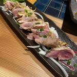鶏肉専門焼肉7/8 - 鶏もものたたき