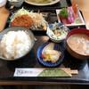Tonkatsutompei - 料理写真:ランチCセット(ヒレカツ+刺身)