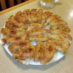 餃子 照井 - 円盤餃子、一皿