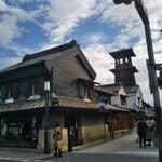 菓匠右門 - 小江戸の雰囲気とシンボル?『時の鐘』