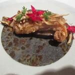 AZUR et MASA UEKI - 歓喜への誘い 虎魚、松茸、秋ナス