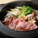 すき焼きランチ (100g)