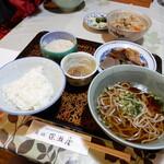 深瀬屋 - そば定食¥1,500