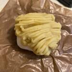 和泉屋 - モンブランクリームとクリーミーな大福が合うんです。