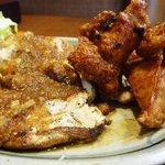 ちきんはうす - 「地鶏のフィレステーキ」にんにくオイル
