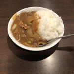 長崎菜館 - ミニカレー 田舎風らしいです