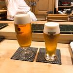 140401545 - 生ビールと生ビール(小)