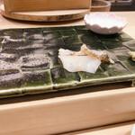 鮨處つの田 - つぶ貝の刺身