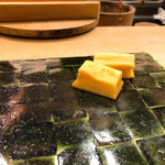 鮨處つの田 - すり身の玉子焼き