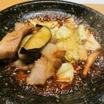 東京コトブキ - 豚バラの辛子しょう油焼き