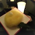 HANA吉兆 - 綿菊で被せられた八寸