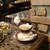 珈琲貴族エジンバラ - ウィンナコーヒー。クリームは別添えでした。
