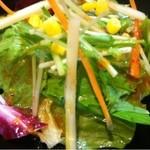 串屋 - ランチサラダ
