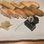 松寿し - 妻の大好きな物ばかりを集めた理想のお寿司(笑)