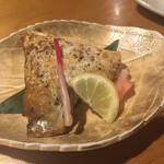 松寿し - カンパチのカマ西京焼き570円。オススメです。