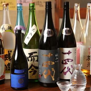 神奈川をメインに全国から厳選し仕入れた自慢の地酒
