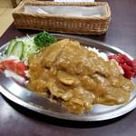 なみき食堂 - 料理写真:カツカレー。