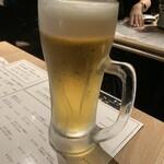 なゝ樹 - 生ビール