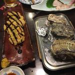140422988 - 焼き牡蠣うまっ。ジャコ天フライはカラシを効かせるといけました。