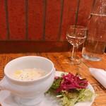 NOTE - スープとサラダ