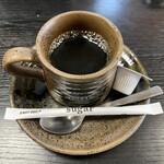 とんかつ なかお - ・食後のホットコーヒー