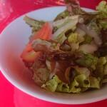 グリル・エス - セットのサラダ