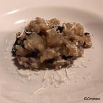 バダローネ - 香茸のリゾット