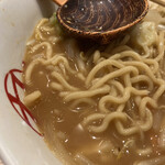 九十九ラーメン - 麺アップ