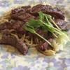 すてーき家 CAESAR - 料理写真:ステーキ(牛ヒレ70g) アップ