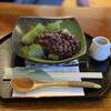 甘味茶蔵 真盛堂 - 料理写真:・抹茶わらびもち 620円/税抜