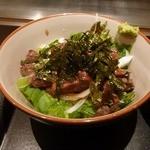 テコ 220℃ - ステーキ丼1.5、御飯大盛 800円