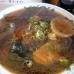 みつい食堂 - 醤油ラーメン(600円)