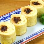 ひつまぶし名古屋 備長 - ふわトロな出汁き卵で鰻を巻き上げた『う巻き』