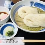 八代目 佐藤養助 - 料理写真:温玉つけうどん 1150円