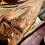 博多もつ鍋 やまや - この日、鯖のひらき