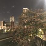 楽食ふじた - 目黒川沿い
